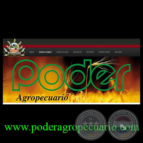 REVISTA PODER AGROPECUARIO