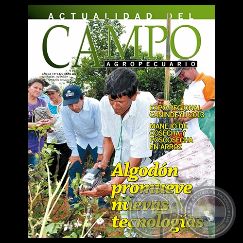 CAMPO AGROPECUARIO - AÑO 12 - NÚMERO 142 - ABRIL 2013 - REVISTA DIGITAL