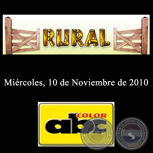 RURAL - 10 de Noviembre de 2010 - ABC COLOR