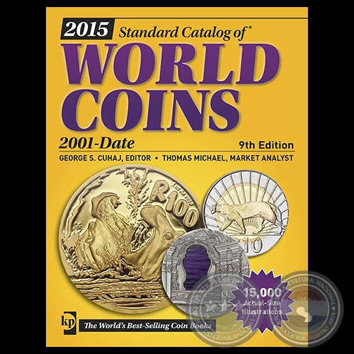 WORLD COINS 2015 - 2001 DATE - 9th Edition