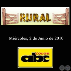 RURAL - 2 de Junio de 2010 - ABC COLOR