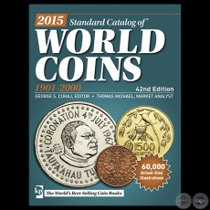WORLD COINS 2015 - 1901 2000 - 42nd Edition