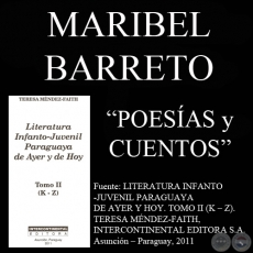 CUENTOS Y POES�AS - Obras de MARIBEL BARRETO