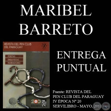 ENTREGA PUNTUAL - Narrativa de MARIBEL BARRETO