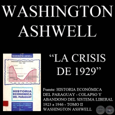 LA CRISIS DE 1929 - Por WASHINGTON ASHWELL