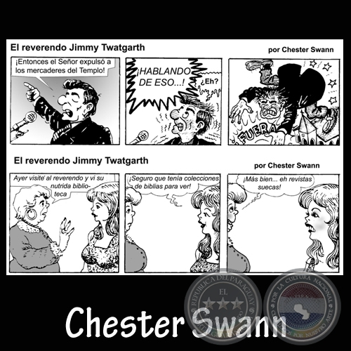 REVERENDO JIMMY TWATGARTH