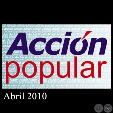 ACCIÓN POPULAR - Abril 2010