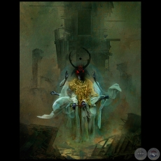 The King in Yellow - Ilustración de Samuel Araya - Colección: Portfolio 2015