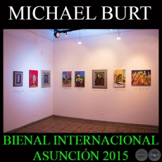 TOUR VIRTUAL - MICHAEL BURT 2015 - BIENAL INTERNACIONAL DE ASUNCIÓN 2015