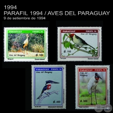 PARAFIL 1994 / AVES DEL PARAGUAY