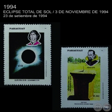 ECLIPSE TOTAL DE SOL / 3-XI-94