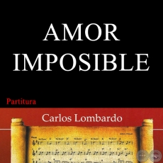 AMOR IMPOSIBLE (Partitura)