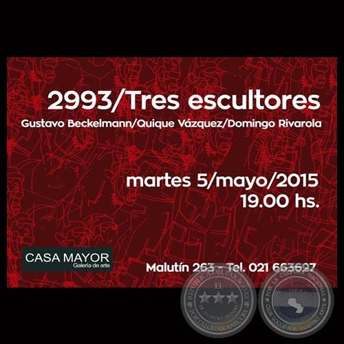 Portal guaran 2993 tres escultores 2015 gustavo for Paredes y rivarola