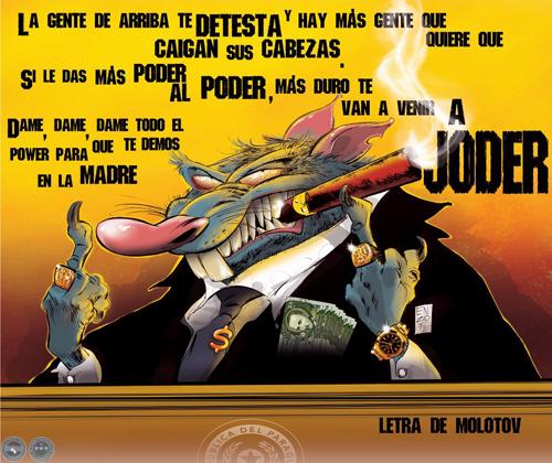 letras molotov: