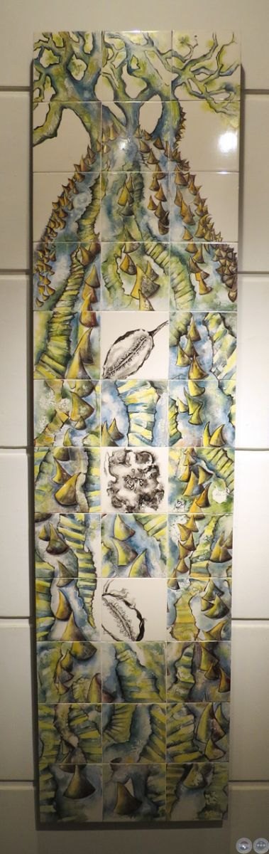 Portal guaran entra as 2014 pintura instalaci n y - Pintura sobre azulejo ...