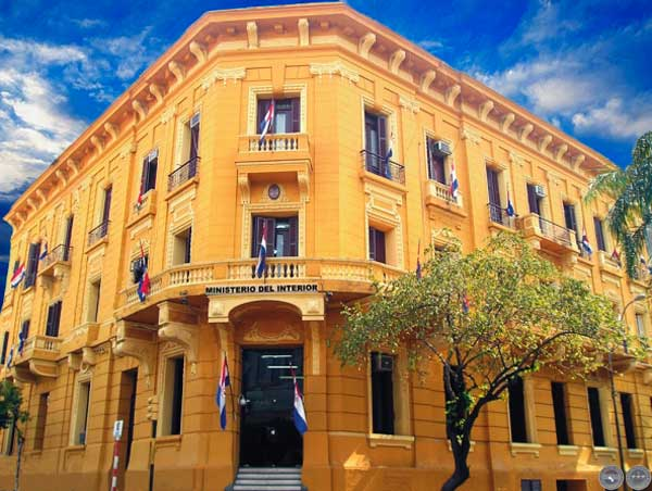 Portal guaran rep blica del paraguay gobierno y geograf a for Ministerio del interior web